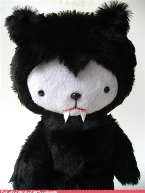 bear costume halloween Plush stuffed vampire - 5326771968