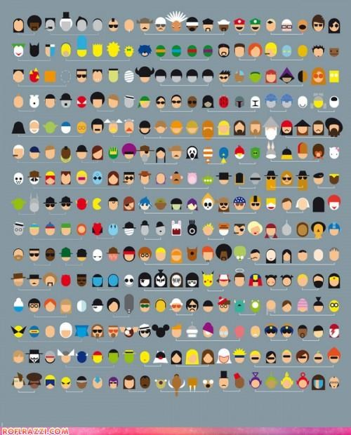 capsules characters charts famous Hall of Fame infographic minimalist win - 5327222016