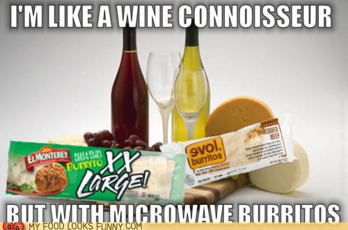 burritos connoisseur fancy nuance wine - 5327375616