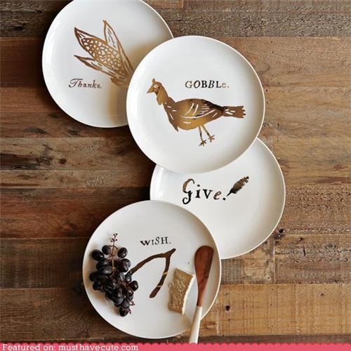 dinner dishes plates table thanksgiving - 5327422720