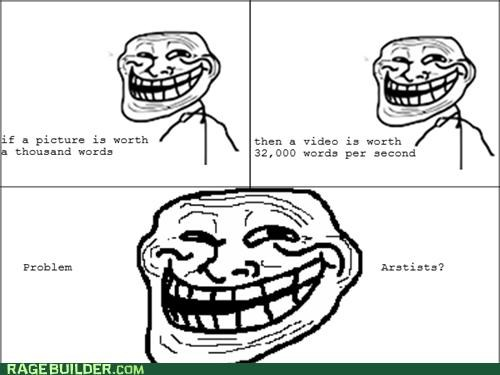 picture problem Rage Comics troll Video - 5327453952