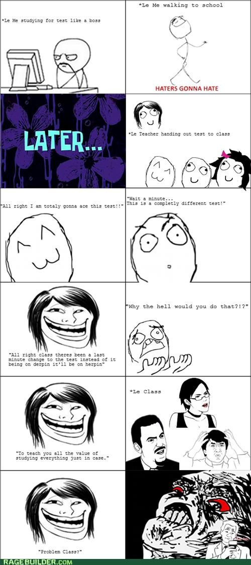 Rage Comics school switch test - 5327530496