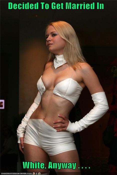 costume emma frost married Super-Lols white - 5327564288