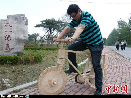 bicycle,China,crafts,dual use,not a kludge