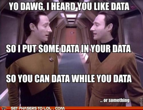 brent spiner,data,something,yo dawg