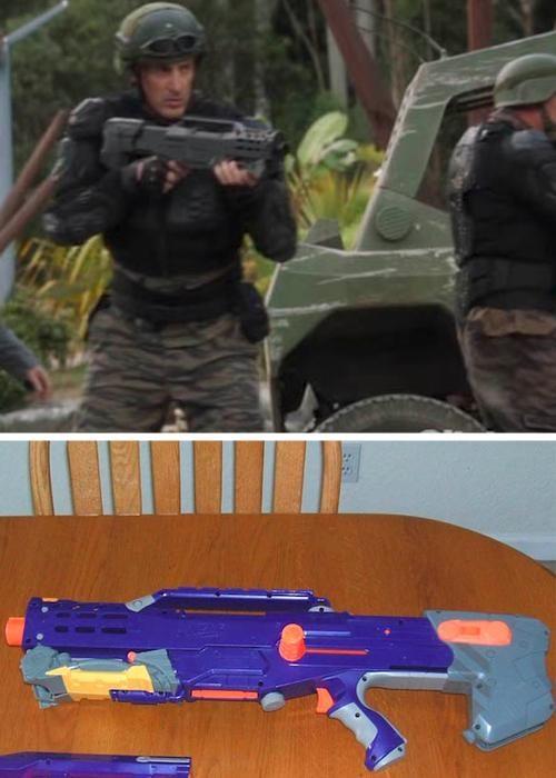 Nerf nerf guns props terra nova tv shows - 5328028160