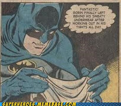 batman eww panties robin secret message Super-Lols sweaty - 5328093184