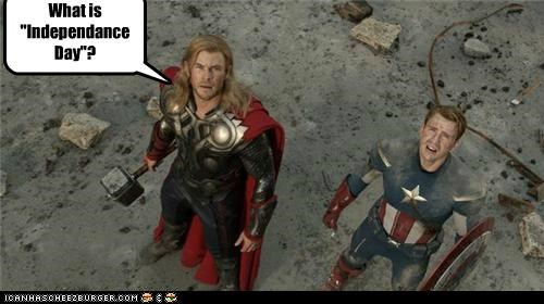avengers captain america independence day Movie Super-Lols Thor - 5328374016
