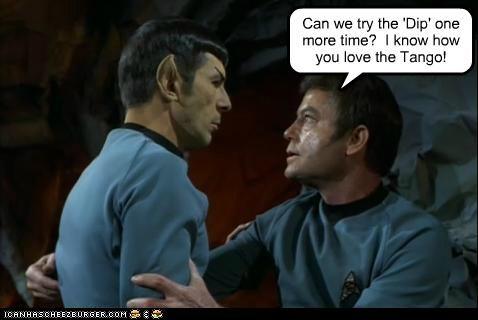 DeForest Kelley Leonard Nimoy McCoy Spock Star Trek tango - 5328509696