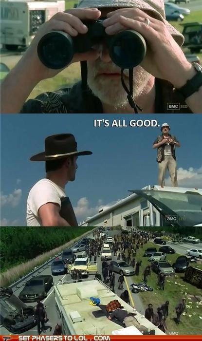 dale,dead,Jeffrey DeMunn,meme,Rick Grimes,scumbag,The Walking Dead,zombie