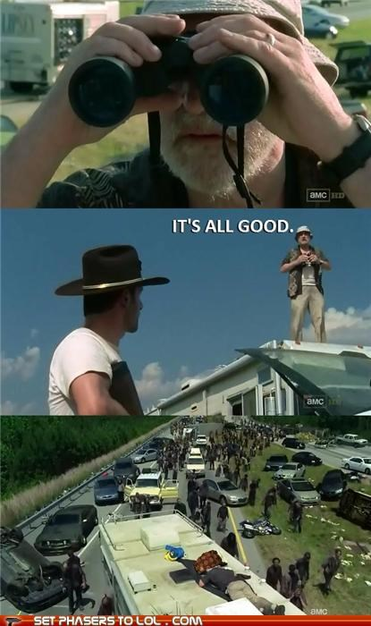 dale dead Jeffrey DeMunn meme Rick Grimes scumbag The Walking Dead zombie - 5328557056