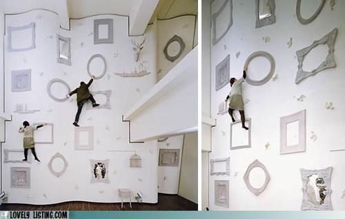 climbing frames wall - 5328646912