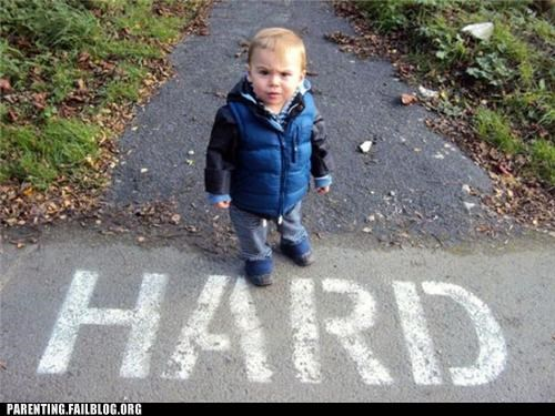 BAMF hard Parenting Fail pose street toddler tough - 5328766720