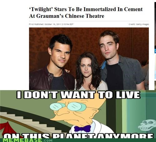 books i dont want to live on this planet anymore movies Sad theater twilight vampires - 5328830720