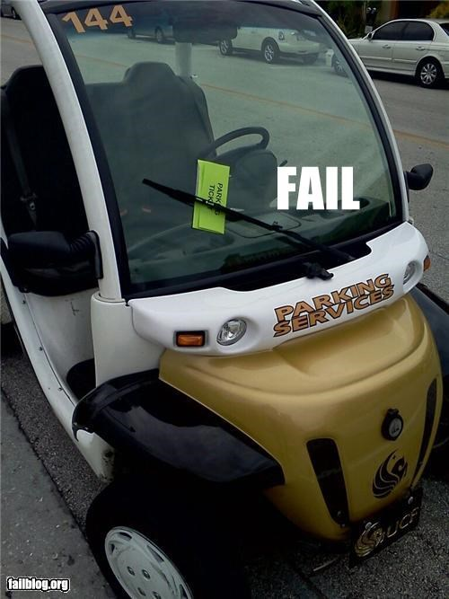 Parking Enforcement Fail