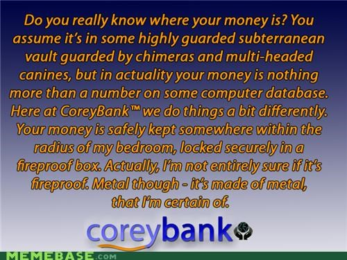 bank coreybank money - 5329047808