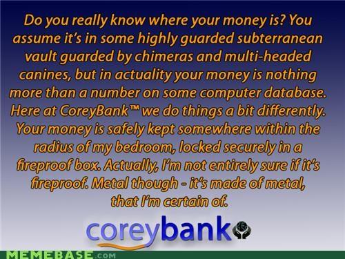 bank coreybank money - 5329047808