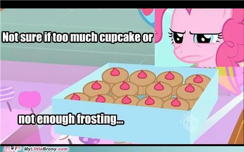 cant tell cupcakes frosting meme needs more pinkie pie - 5329200640