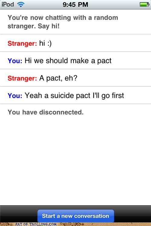 disconnect,Omegle,pact,suicide