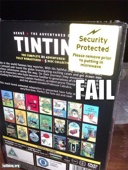 directions failboat g rated movies stupidity Tintin warning