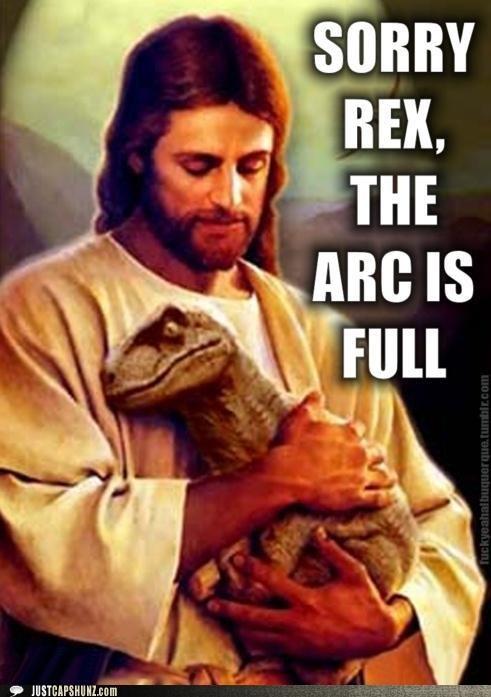 awww depressing dinosaur jesus rex so sad velociraptor - 5331172608