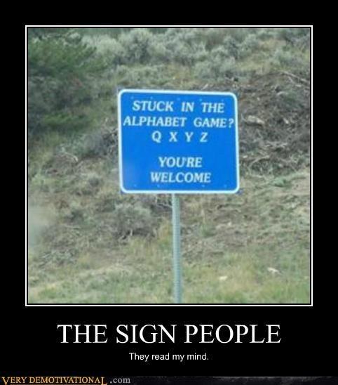 alphabet game hilarious people sign - 5331312640