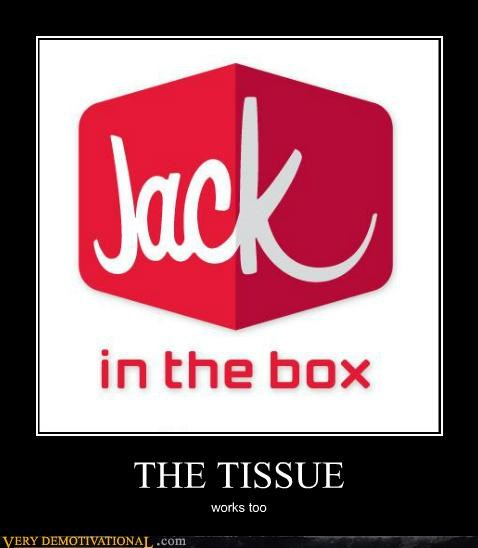 fapping hilarious jack in the box tissue - 5331339264