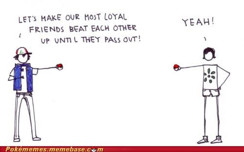 awesome comic fight friends loyalty pass out yeah - 5331447808