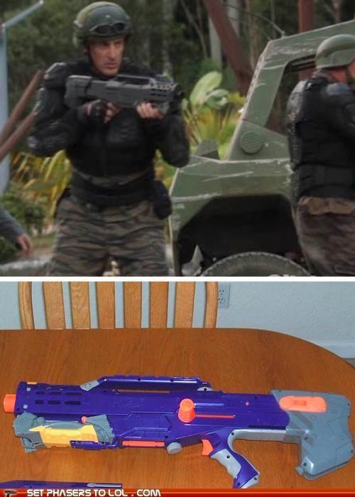 budget expensive nerf gun props terra nova - 5331550976