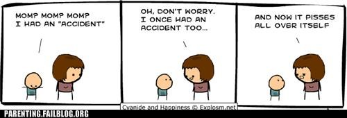 accident comic mom oops parenting Parenting Fail pee - 5331692800