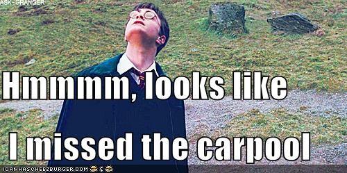 carpool,Daniel Radcliffe,harry,Harry Potter