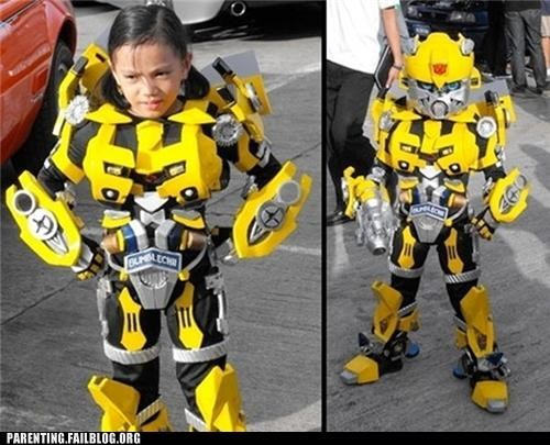 cartoons costume halloween nerdgasm Parenting Fail parenting WIN transformers - 5332288256