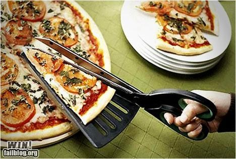 convenient design food handy pizza pizza cutter - 5332316160