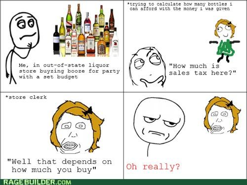 math Rage Comics sales tax wtf - 5332392704
