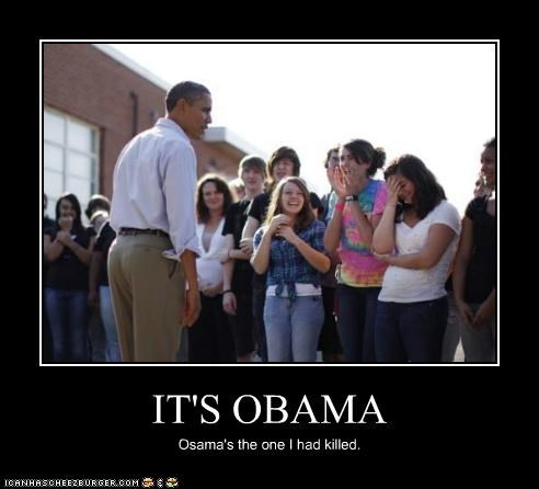 barack obama Osama Bin Laden political pictures - 5332465664