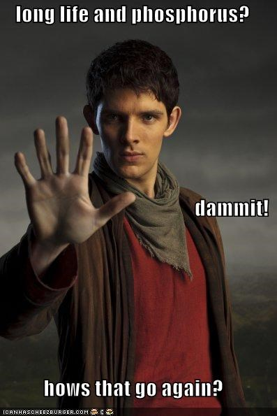 colin morgan live long and prosper merlin Spock - 5332593152