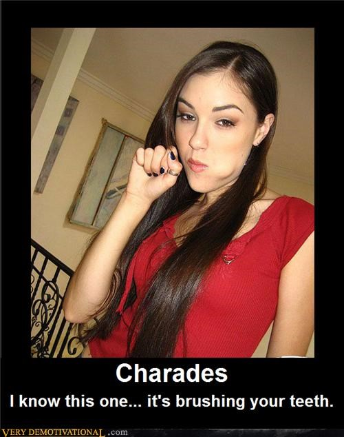 brushing teeth charades hilarious Sasha Grey - 5332679168