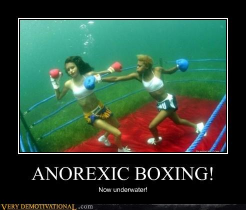 anorexic,boxing,hilarious,thinspo,underwater