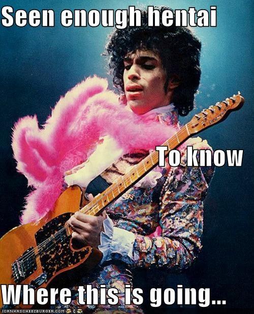 Fluffy guitar hentai Music musician pink prince roflrazzi seen enough hentai - 5333634304