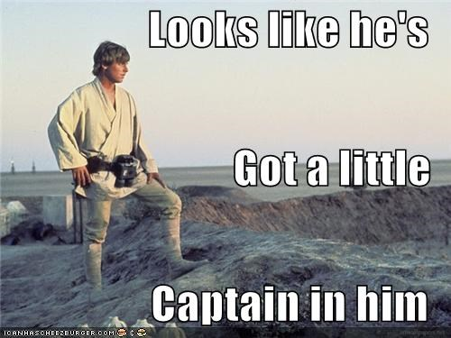 captain morgan luke skywalker Rum star wars