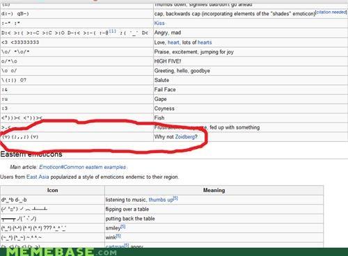 emoticon wikipedia Zoidberg - 5333745920