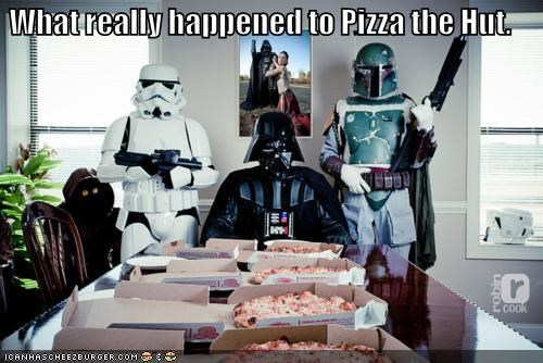 boba fett,darth vader,pizza,spaceballs,star wars,stormtrooper
