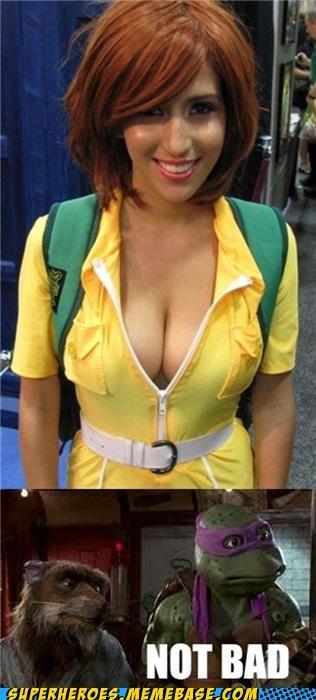 april-oneil costume Sexy Ladies Super Costume TMNT - 5334470656