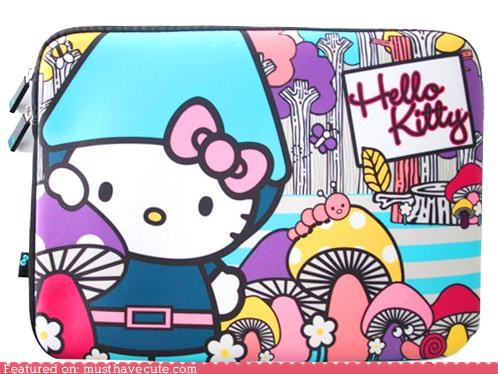 case,computer,cover,hello kitty,laptop case