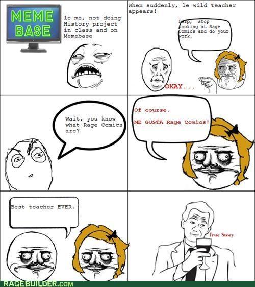 me gusta,Rage Comics,teacher