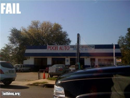 Poon Auto Shop If your man card has been revoked.