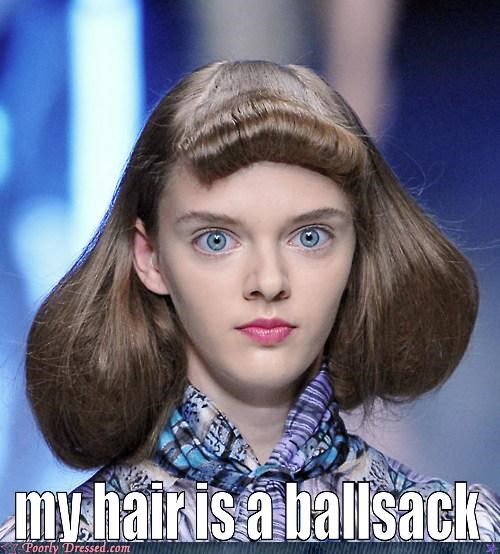 bad hair creepy eyes hairstyle fail Hall of Fame - 5335694336