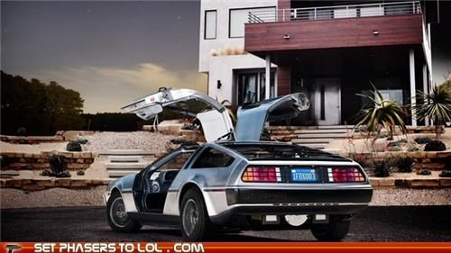back to the future cars DeLorean news time travel - 5335746048