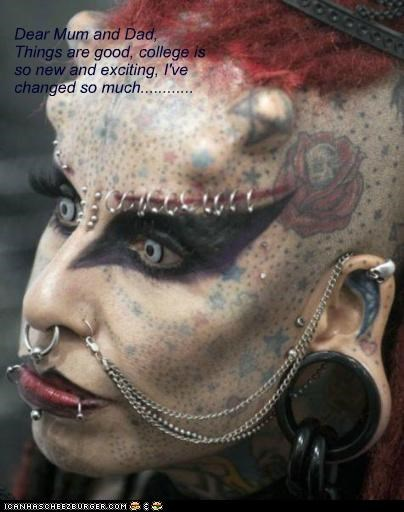best of week changed piercings tatoos weird kid - 5335752192