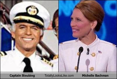 Captain Steubing Totally Looks Like Michelle Bachman